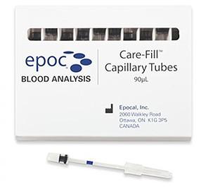 Капилляры гепаринизированные EPOC